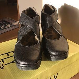 Fly London Yogo Black Shoes